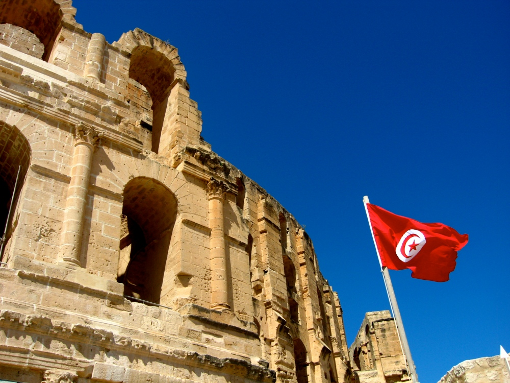 The Roman Amphitheater at El Djem  (2/6)