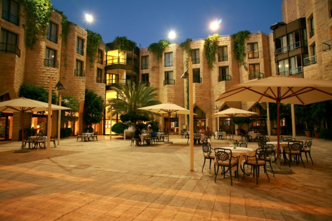 Image result for hotel courtyard