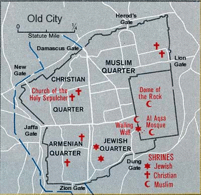 Yerushaláyim, al-Quds, Jerusalem:  The Christian Quarter (1/6)